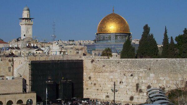 Muro de las Lamentaciones y la Cúpula de la Roca en Jerusalén - Sputnik Mundo