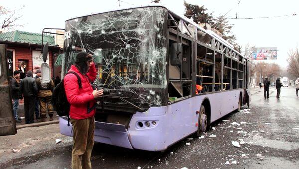 Parada de transporte en Donetsk - Sputnik Mundo