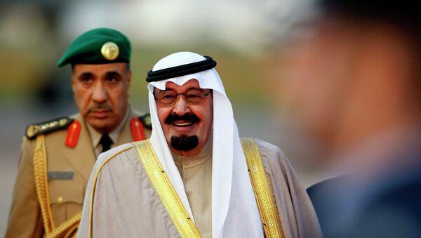 Rey de Arabia Saudí  Abdalá  (Archivo) - Sputnik Mundo
