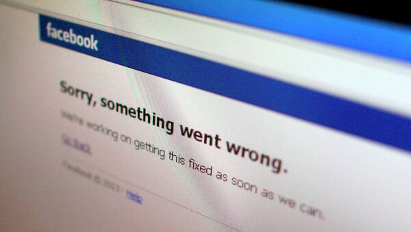 La página de Facebook (Archivo) - Sputnik Mundo