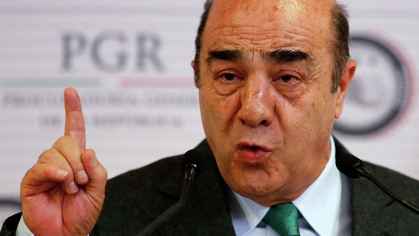Jesús Murillo, Procurador General de México - Sputnik Mundo