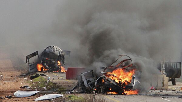 Два погибших израильских и один испанский миротворец в Ливане после обстрела Израилем Хезболлы - Sputnik Mundo