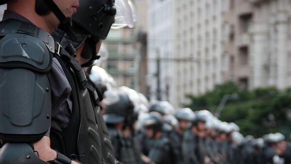 Policía Militar - Sputnik Mundo
