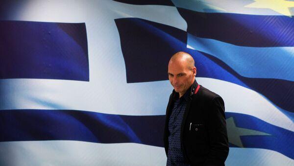 Yanis Varoufakis, ministro de Finanzas de Grecia - Sputnik Mundo