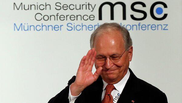 Wolfgang Ischinger, presidente de la Conferencia de Múnich - Sputnik Mundo
