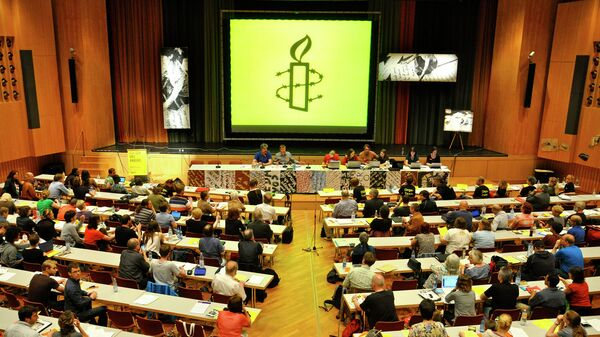 Amnistía Internacional (imagen referencial) - Sputnik Mundo