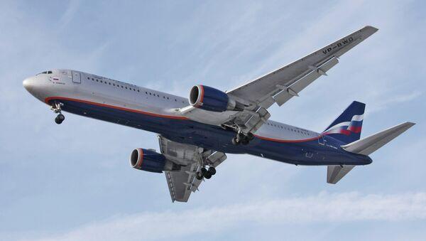 Самолет Boeing-767 авиакомпании Аэрофлот-Российские авиалинии - Sputnik Mundo
