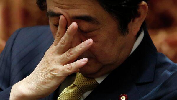 Shinzo Abe, primer ministro de Japón - Sputnik Mundo