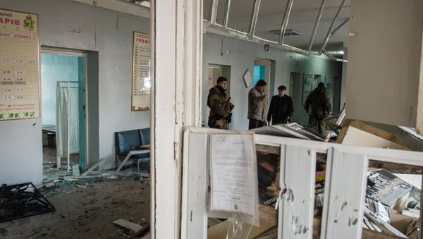 Hospital en Donetsk - Sputnik Mundo
