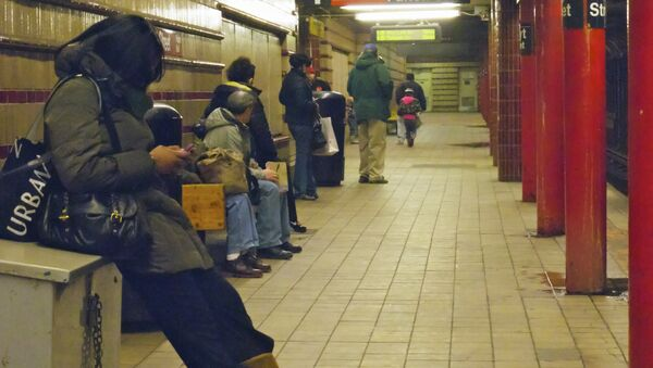 El metro de Nueva York - Sputnik Mundo