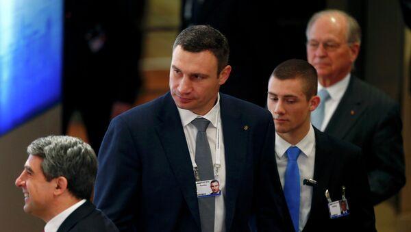 Vitali Klichkó, alcalde de Kiev - Sputnik Mundo