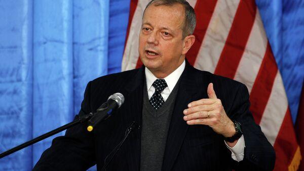 John Allen, enviado especial de EEUU para combatir al Estado Islámico (EI) - Sputnik Mundo