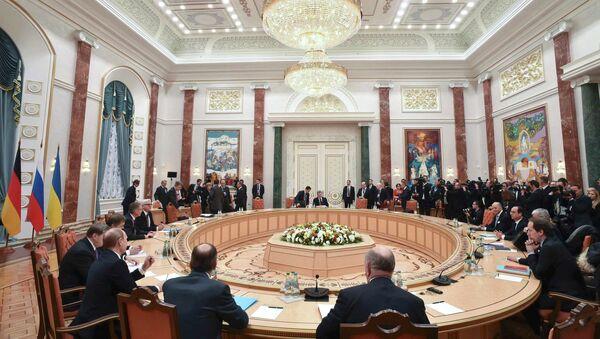 Cumbre en Minsk - Sputnik Mundo