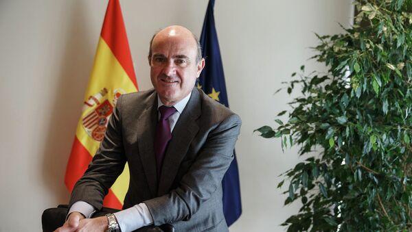 Luis de Guindos, ministro de Economía de España - Sputnik Mundo