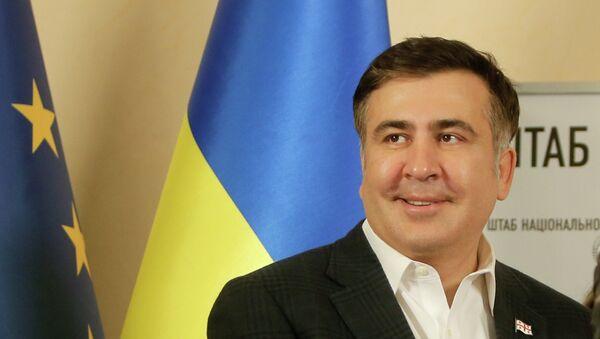 Mijaíl Saakashvili, gobernador de la provincia de Odesa - Sputnik Mundo