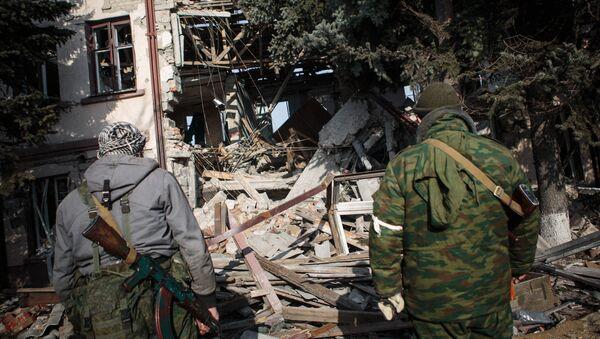 Ситуация в Донецкой области - Sputnik Mundo