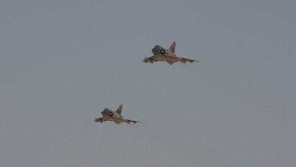Dos cazas Mirage de la Fuerza Aérea de Egipto - Sputnik Mundo