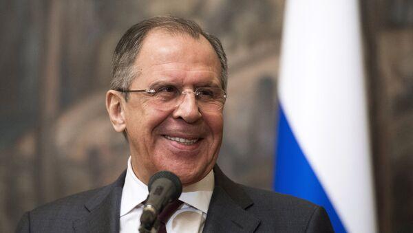 Министр иностранных дел Российской Федерации Сергей Лавров - Sputnik Mundo
