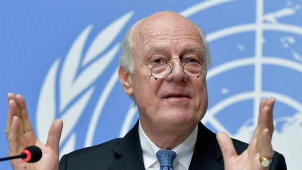 Staffan de Mistura, enviado especial de la ONU en el Siria - Sputnik Mundo