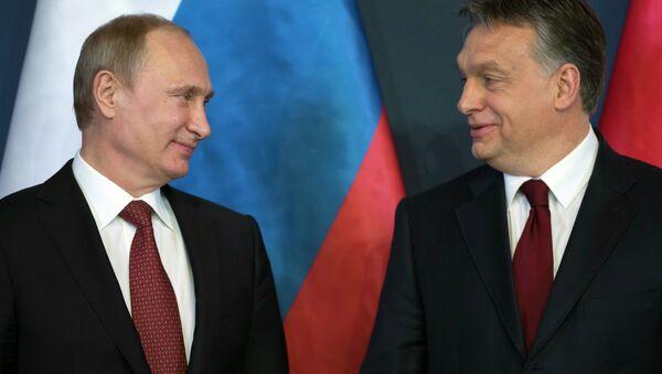 Визит президента РФ В.Путина в Венгрию - Sputnik Mundo