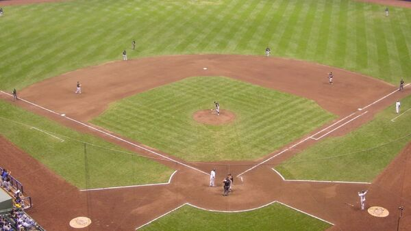 Baseball From High Above Home Take Two - Sputnik Mundo