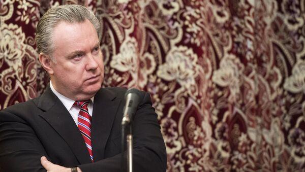 Официальный представитель министерства иностранных дел Российской Федерации Александр Лукашевич - Sputnik Mundo