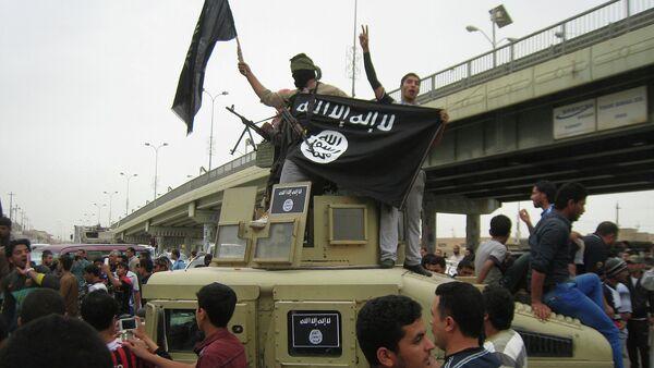 Miembros del grupo Estado Islámico - Sputnik Mundo
