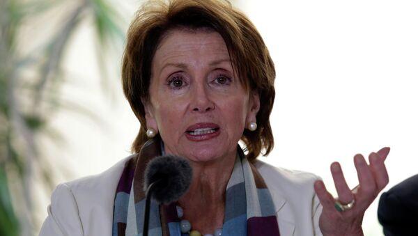 Nancy Pelosi, candidata demócrata a líder de la Cámara de Representantes de EEUU - Sputnik Mundo