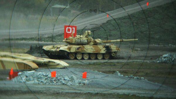 Танк Т-90С, экспортный вариант танка Т-90 на IX Международная выставка вооружений Russian Expo Arms-2013 - Sputnik Mundo
