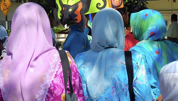 Малазийские девочки - Sputnik Mundo