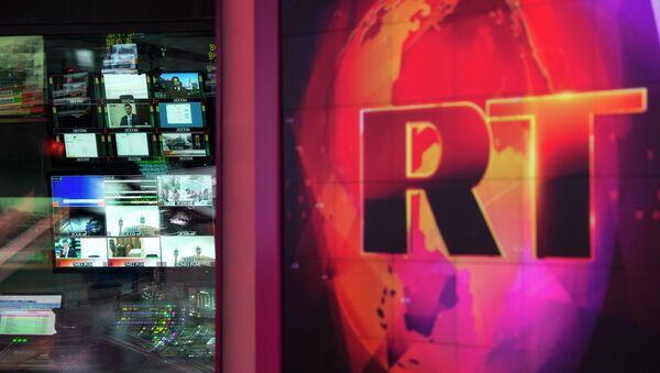 Logo de la cadena RT - Sputnik Mundo