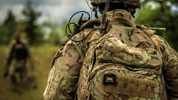 British Army working during the Field Training Exercise - Sputnik Mundo
