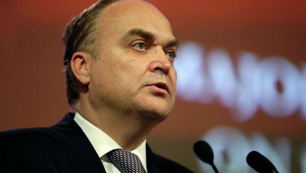 Anatoli Antónov, embajador ruso en Washington - Sputnik Mundo