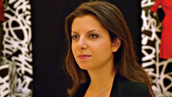 Margarita Simonián, directora de RT - Sputnik Mundo