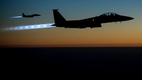 Fuerzas aéreas de coalición internacional contra el Estado Islámico - Sputnik Mundo