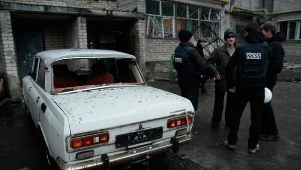 Periodistas en Ucrania - Sputnik Mundo