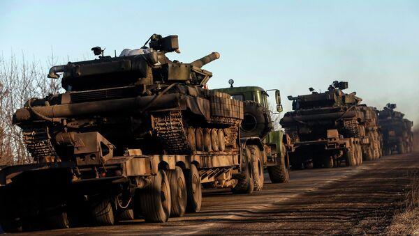 Armamentos pesados del Ejército de Ucrania - Sputnik Mundo