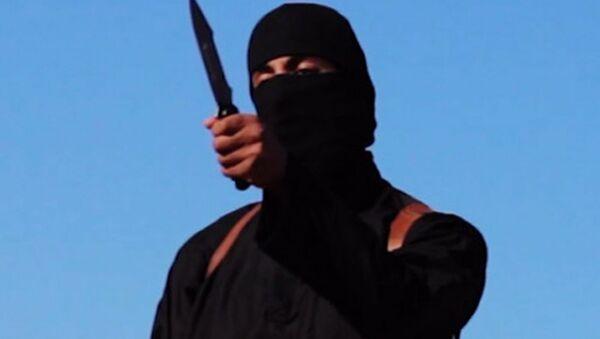 James Foley's killer, nicknamed Jihadi John - Sputnik Mundo