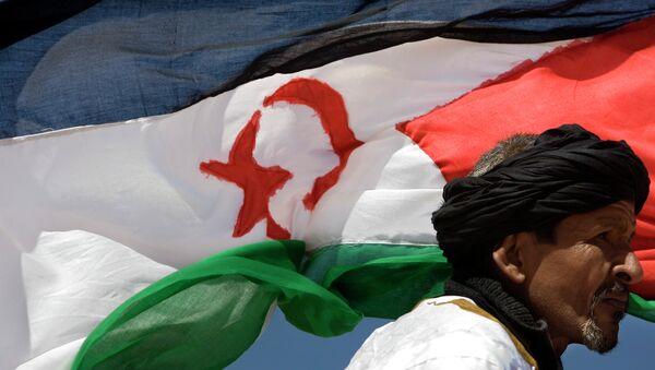 Bandera del Sahara Occidental - Sputnik Mundo