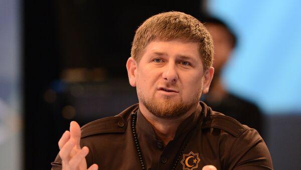 Ramzán Kadírov, jefe encargado de Chechenia - Sputnik Mundo