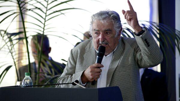 José Mujica, ex presidente de Uruguay - Sputnik Mundo