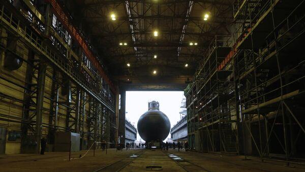 El astillero de San Petersburgo - Sputnik Mundo