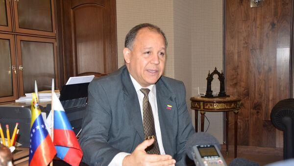Juan Vicente Paredes Torrealba, embajador de la República Bolivariana de Venezuela ante la Federación de Rusia - Sputnik Mundo