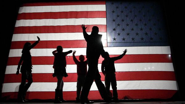 US flag - Sputnik Mundo