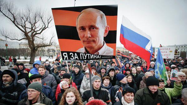 Los rusos confían en el equipo de Putin - Sputnik Mundo