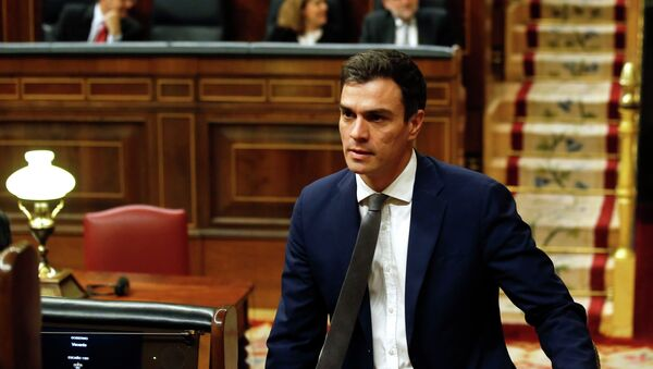 Pedro Sánchez, secretario general del PSOE - Sputnik Mundo