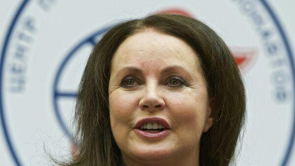 Sarah Brightman en el Centro de Entrenamiento de Cosmonautas Gagarin - Sputnik Mundo