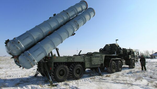 Un sistema ruso S-400 - Sputnik Mundo