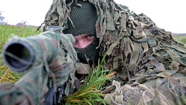 Soldado del Ejército ruso - Sputnik Mundo