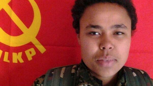 Ivana Hoffman, the Kurdish Peoples Protection Units (YPG) - Sputnik Mundo
